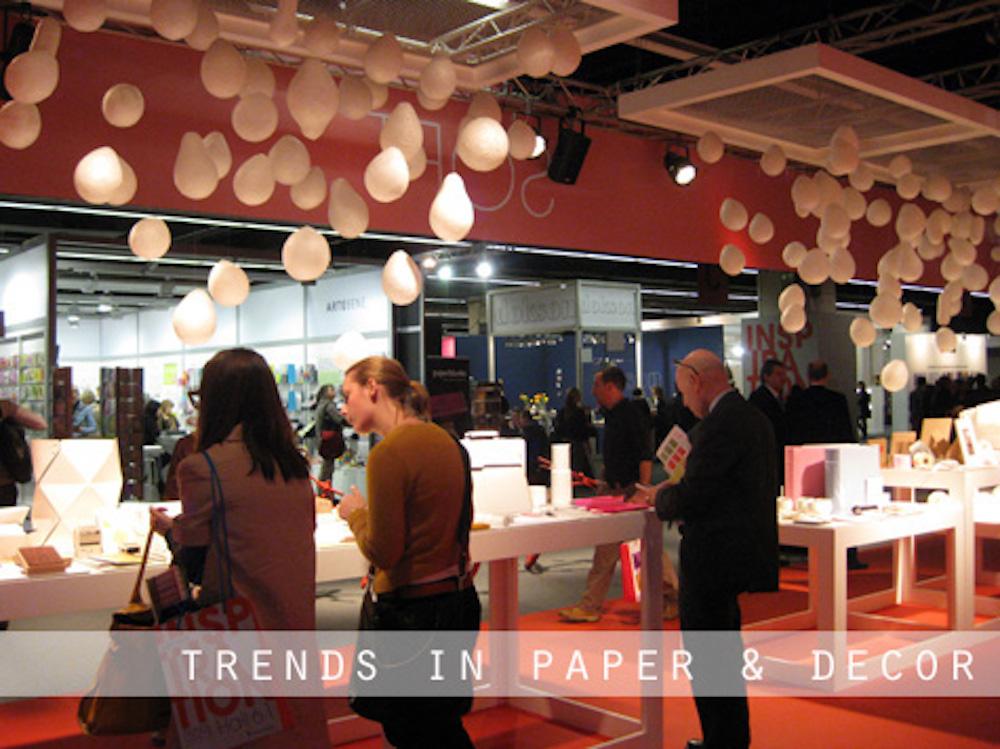 Botanical PaperWorks' Stationery Chosen for Trend Display