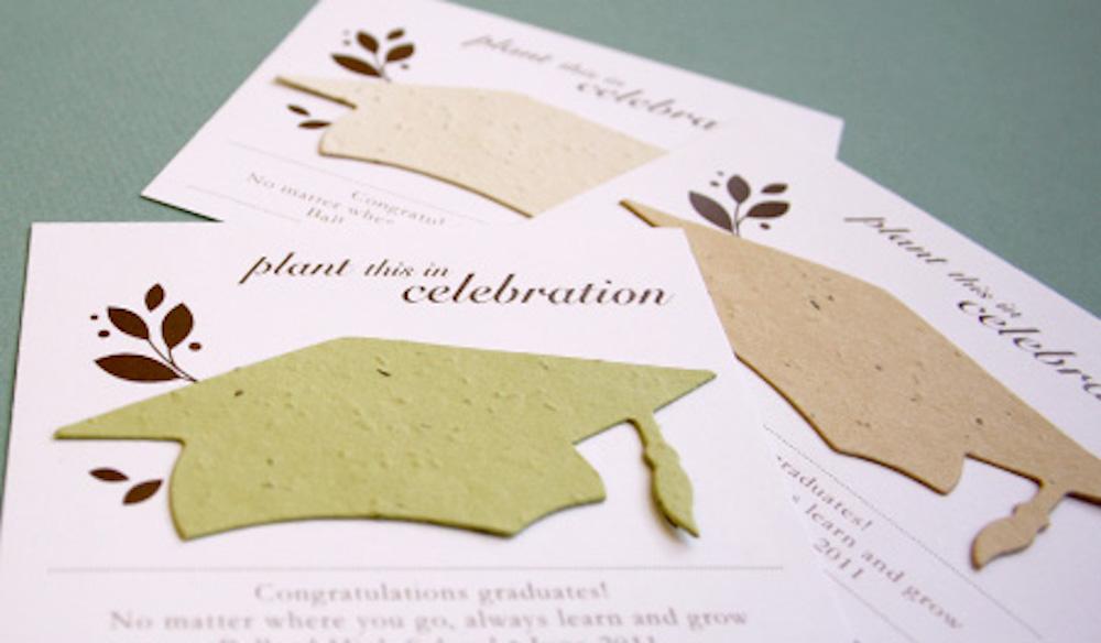 Celebrate Grads With Plantable Graduation Favors