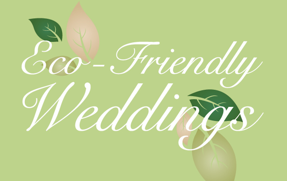 Tips for Planning an Eco-Friendly Wedding from Huffpost Weddings