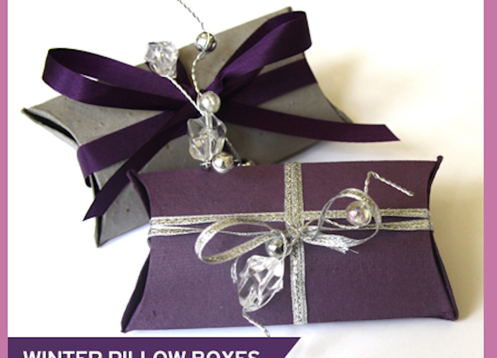 New Ideas for Personalizing Wedding Favor Pillow Boxes