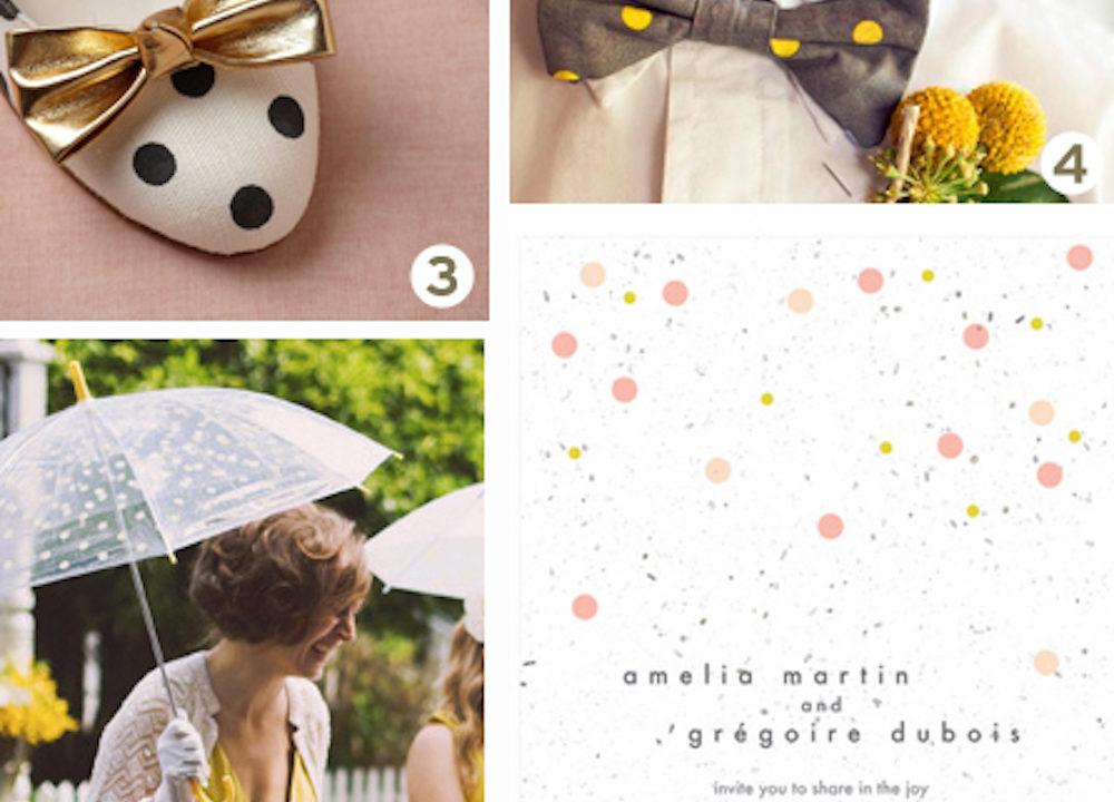 {inspiration board} Polka Dot Wedding Ideas