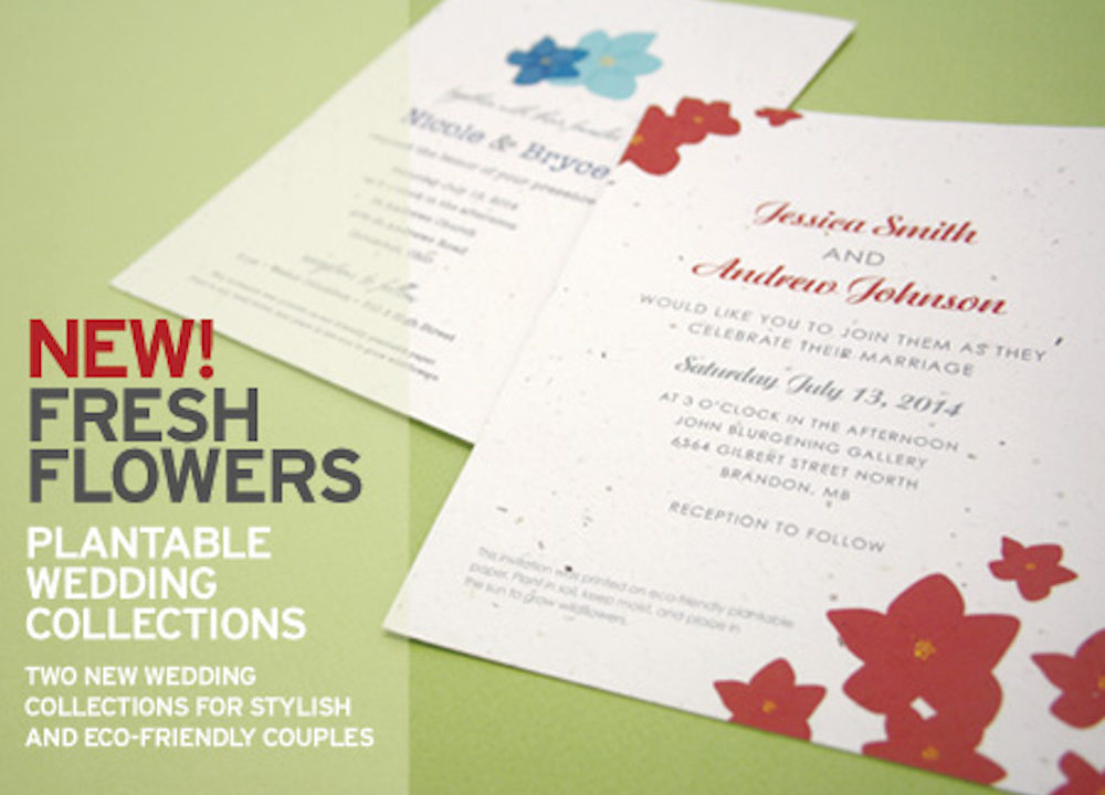 Two New Floral-Inspired Invitation Collections