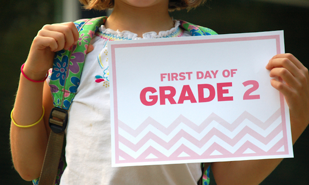 5 Tips for a Fun Back To School, and a bonus {free printable}