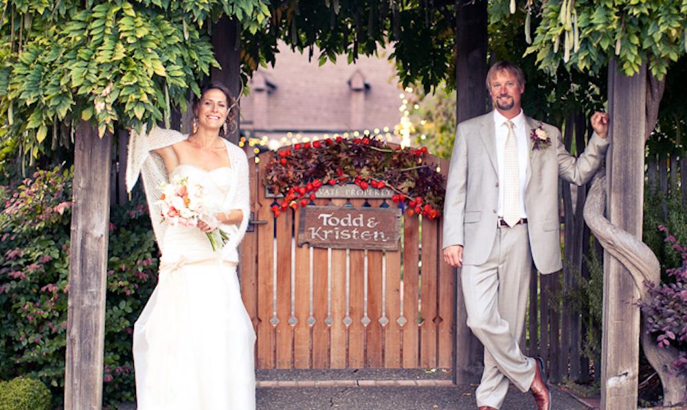 {real wedding} Plantable Products Help Create an Eco-Beautiful Wedding