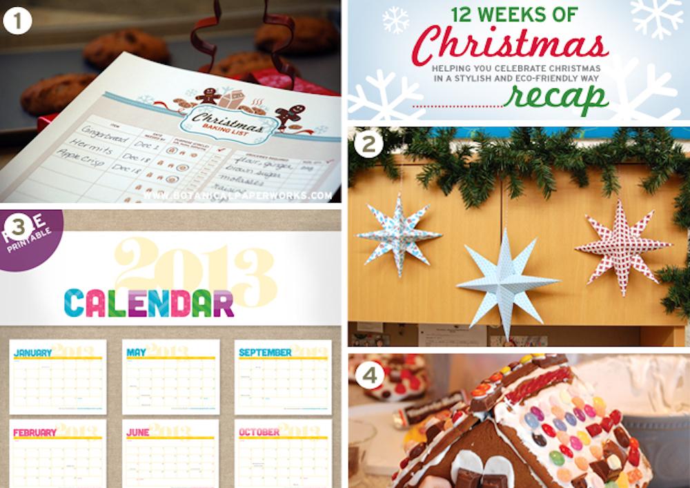 The Best of the 12 Weeks of Christmas Freebies Recap!