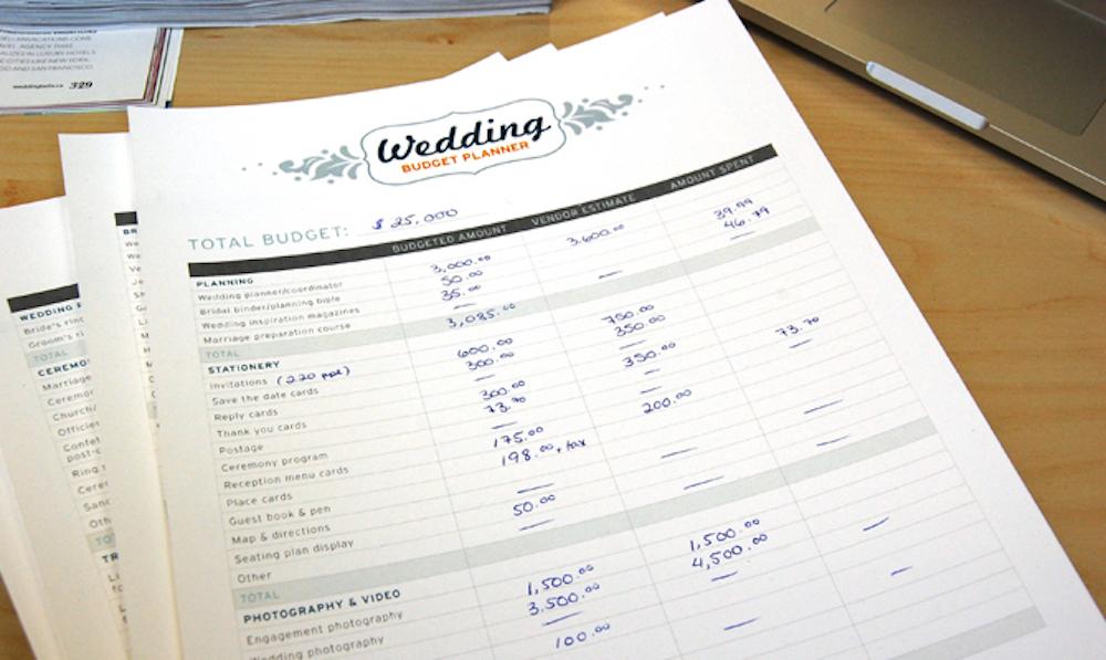 {free printables} Wedding Budget Planner