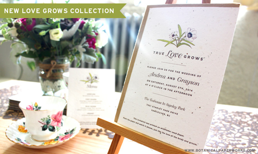 The New Love Grows Wedding Collection