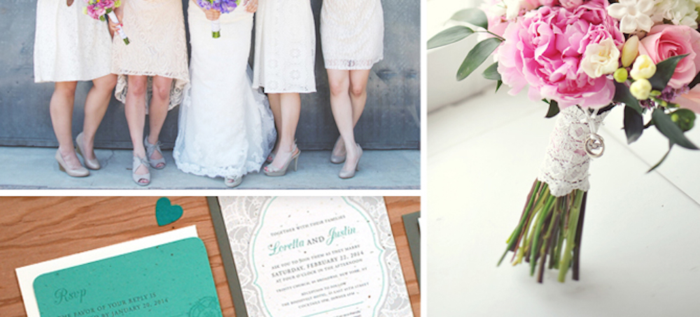 {inspiration board} Lace Wedding Ideas