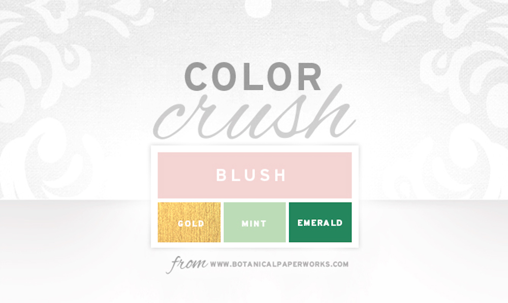 {inspiration board} Color Crush - Blush