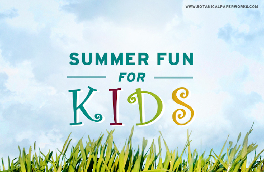 Summertime Activities for Kids