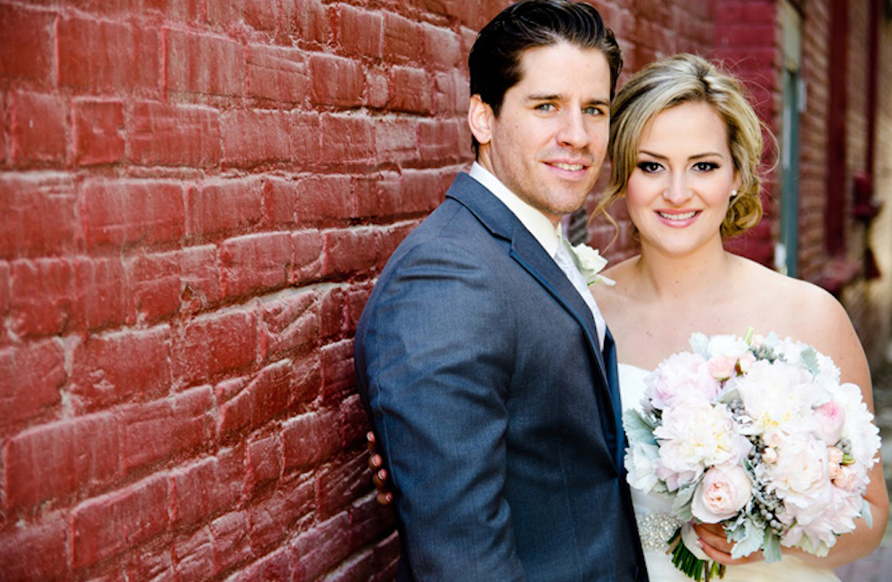 Richelle and Nate's Romantic Eco-Friendly Wedding