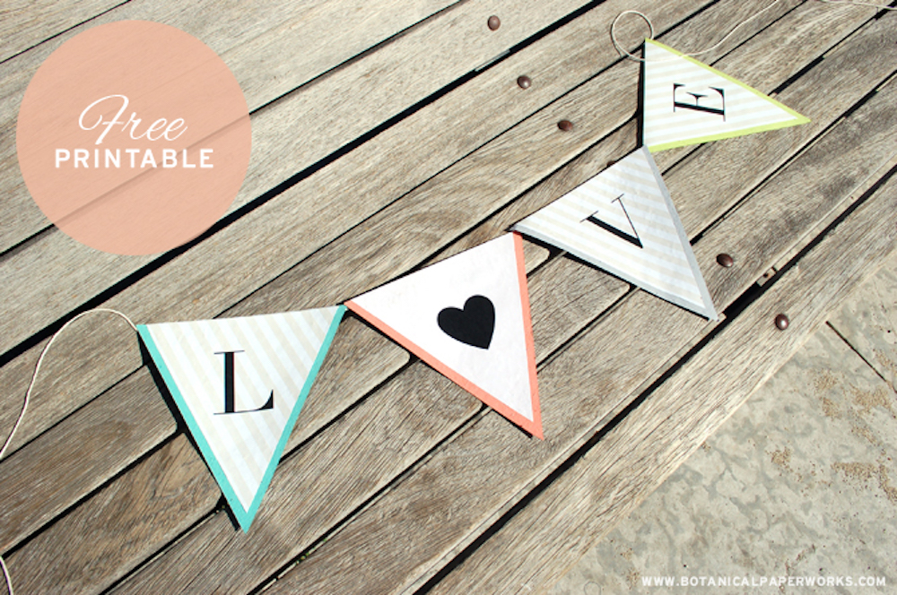 {free printable} Alphabet Banner for All Occasions