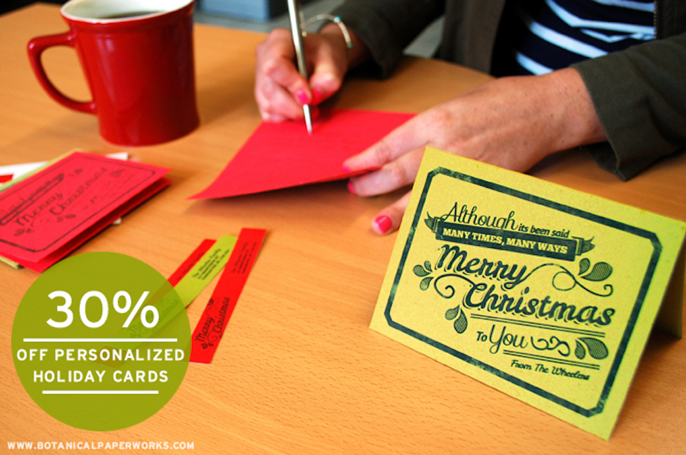 Get a Head Start on the Holidays While You Have Time Now and Save Big!
