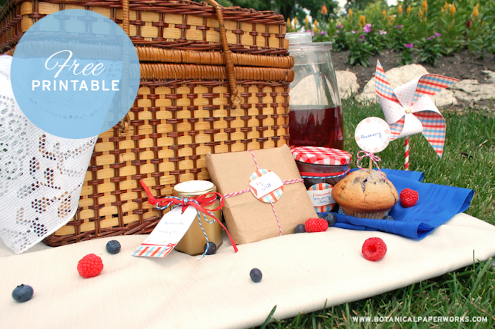 {free printable} Picnic Party Collection