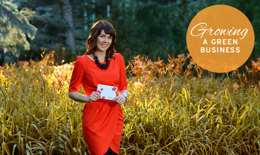 Heidi Reimer-Epp CEO of Botanical PaperWorks seed paper company Rogers Magazine - Connected for Business Feature on Growing a Green Business