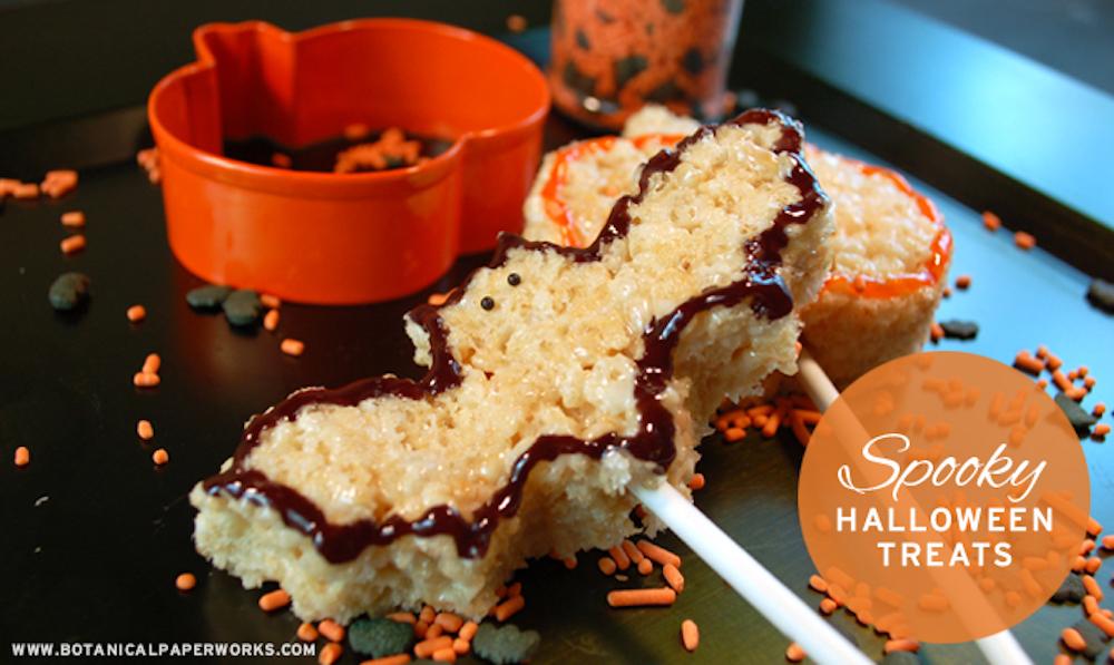 Easy Halloween Treats Recipe and DIY