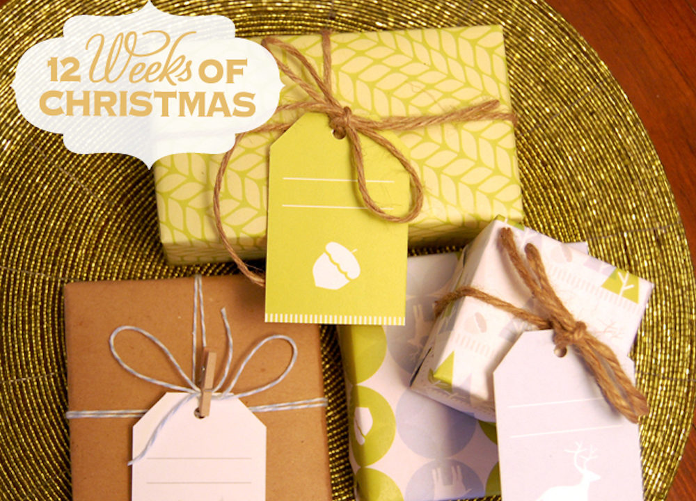 Christmas Wrapping And Tags