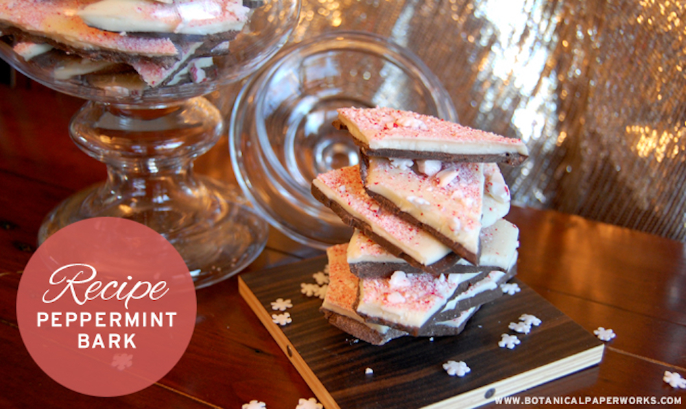 Holiday Recipe Peppermint Bark