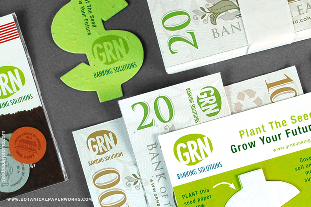 Seed Paper Promotional Products For The Financial Industry