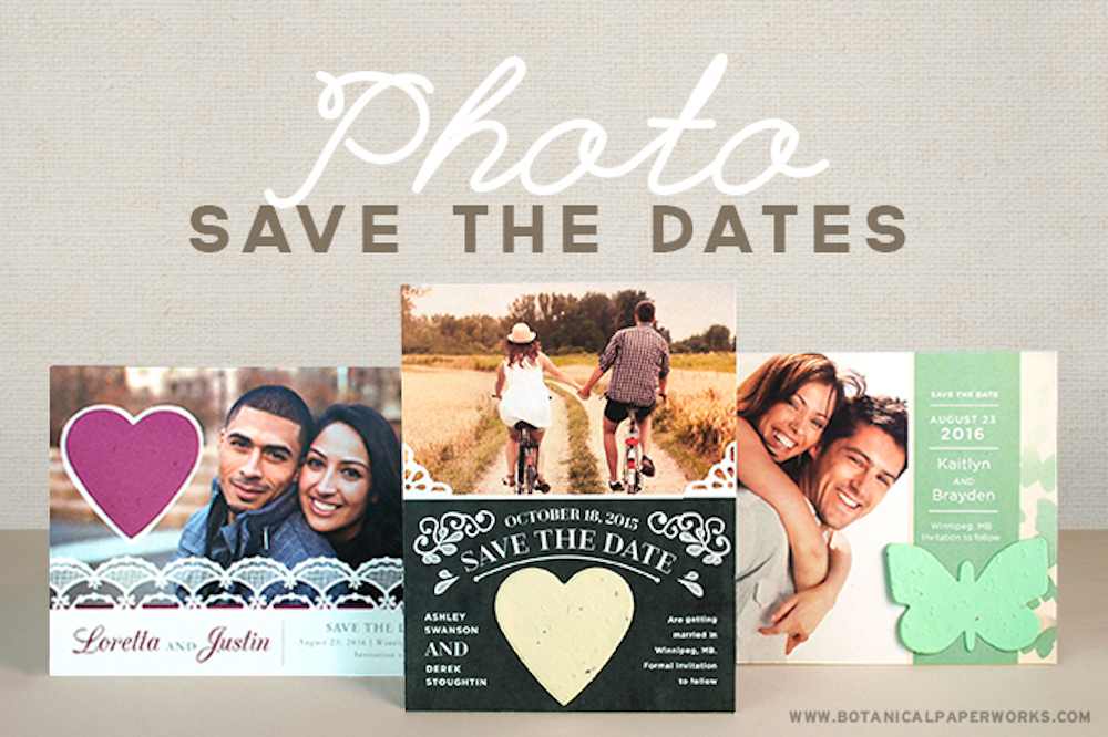 New Photo Save The Dates!