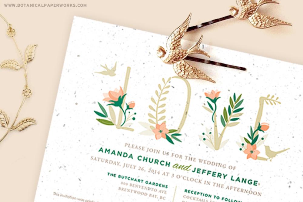 Pretty & Paper - Beautifully Bohemian Wedding Inspiration