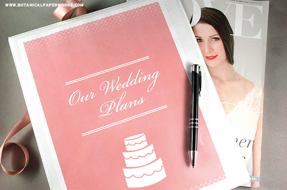 Wedding Planning Binder Free Printable