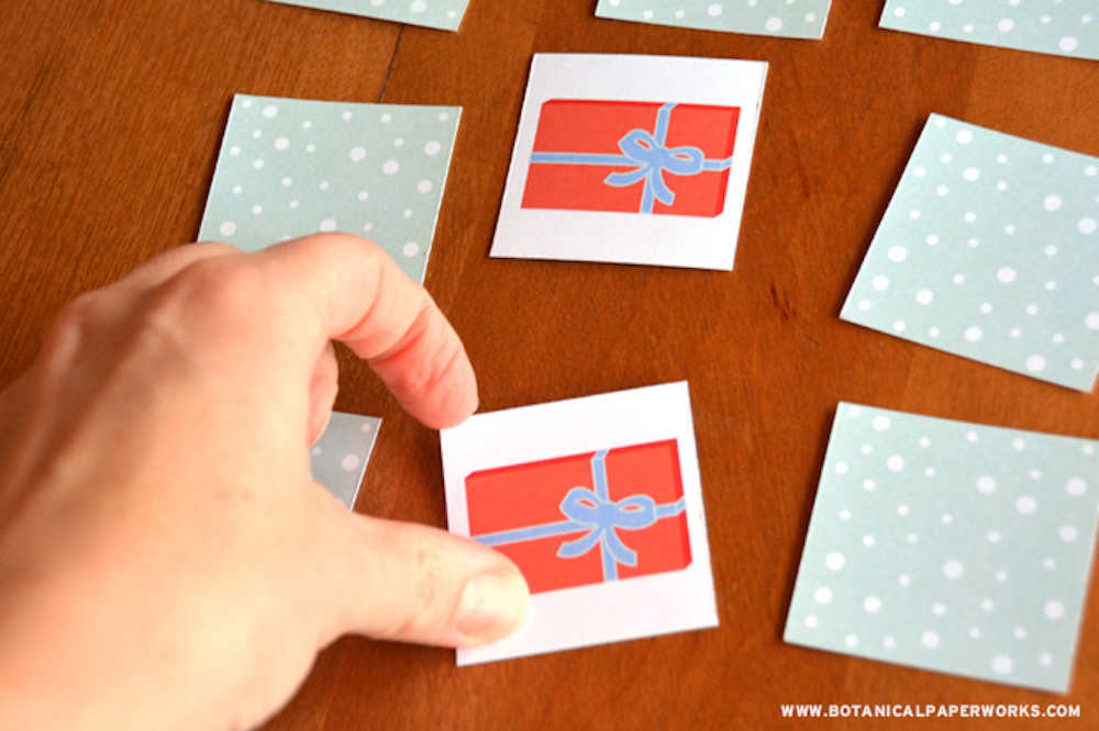 Christmas Matching Game Free Printable