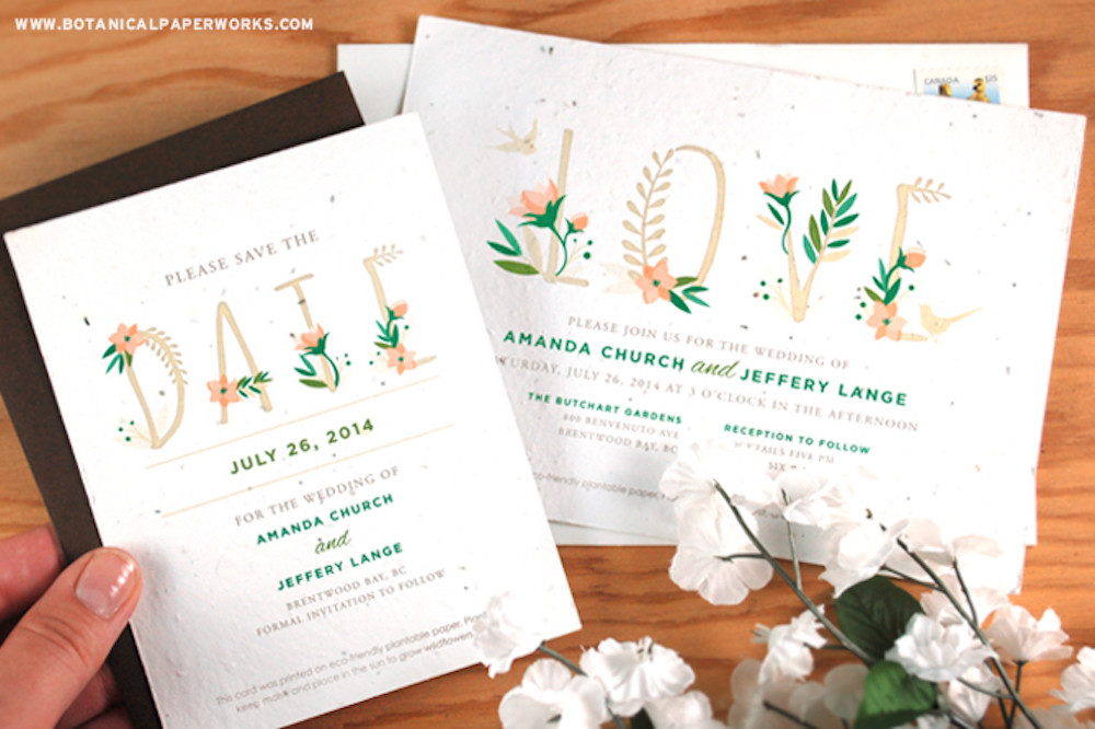 Save The Date Cards & Wedding Invitations