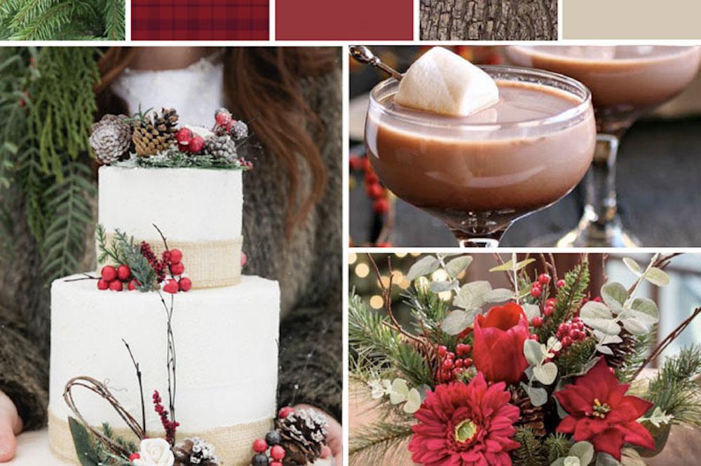 Christmas Wedding Inspiration Board