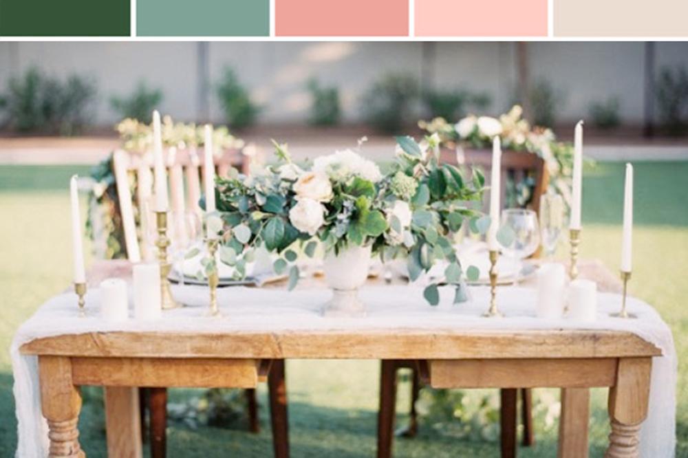 Botanical Beauty Wedding Inspiration Board