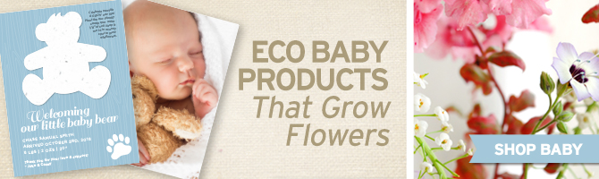 eco-friendly baby products banner