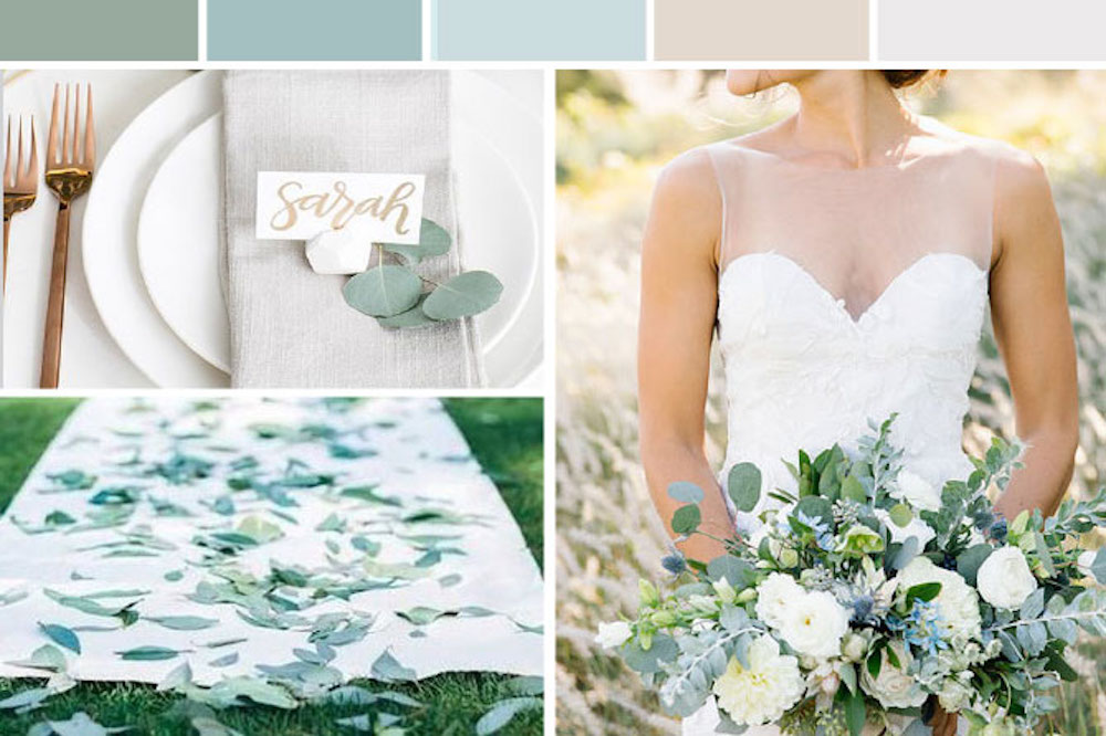 Eucalyptus Greenery Wedding Inspiration
