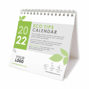 Seed paper desktop calendar that grows wildflowers.