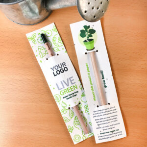 A zero-waste Earth Day gift that will grow into herbs.