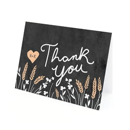 seed paper thank you cards for weddings
