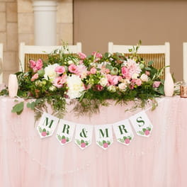 Wedding Party Banners
