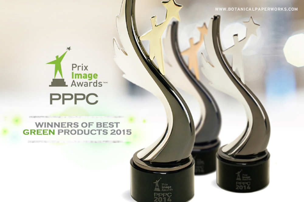 Botanical PaperWorks Wins Awards at the PPPC Image Awards!