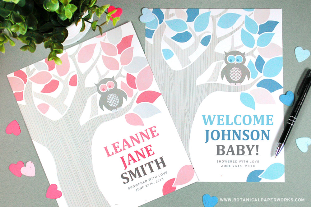 Baby Shower Guest Book Printable