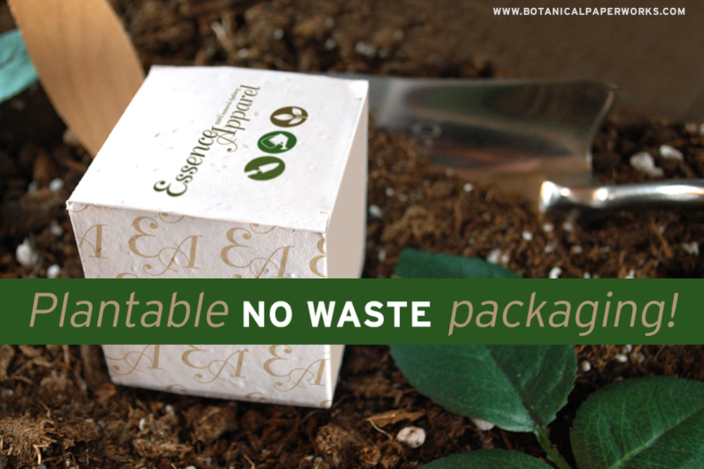 Plantable Zero Waste Packaging