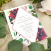 Bursting with beautiful blooms, these Beautiful Blooms Plantable Wedding Invitations are an eco-friendly choice that will wow your guests in more ways than one.