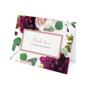 These Beautiful Blooms Plantable Thank You Cards that grow wildflowers are such a special way to show your gratitude to your friends and family who supported you.