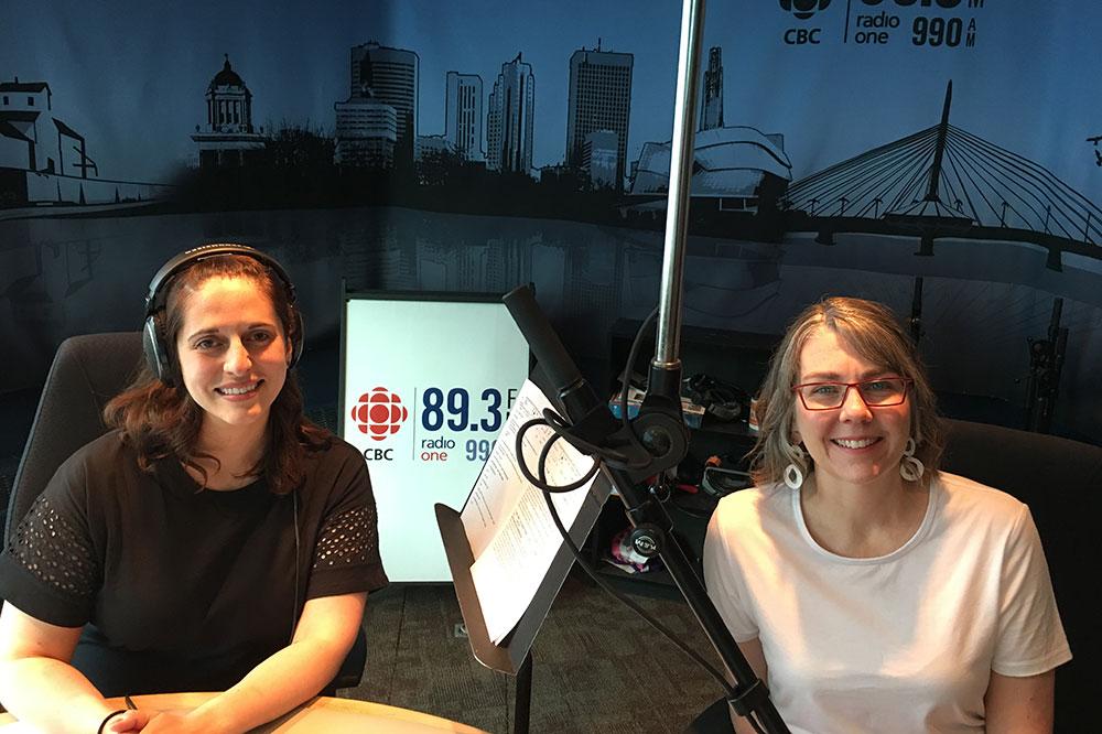 Heidi Reimer-Epp CEO of Botanical PaperWorks on CBC Radio
