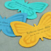 These Personalized Seed Paper Memorial Butterflies can be distributed at a service so friends and family of the departed can take them home to plant in a special place as a private moment of reflection.