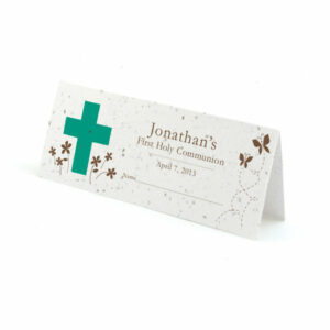 Holy Communion plantable place cards