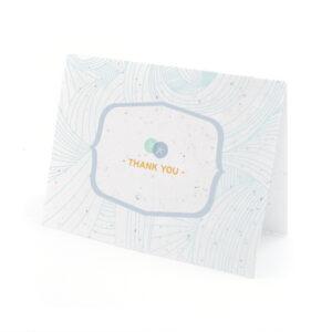 sand dollar plantable thank you cards