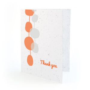 retro lanterns plantable thank you cards