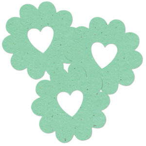 Bucket of love plantable seed green baby shower favors