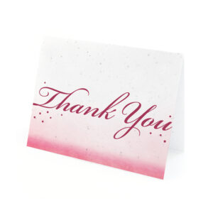 Celebrate Ombre Plantable Thank You Cards