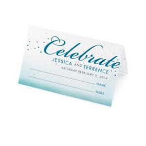 Celebrate Ombre Plantable Place Cards