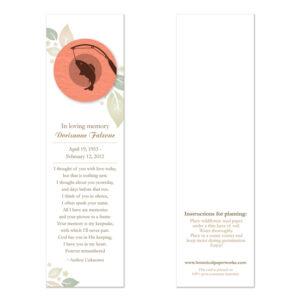 Fishing Memorial Bookmarks